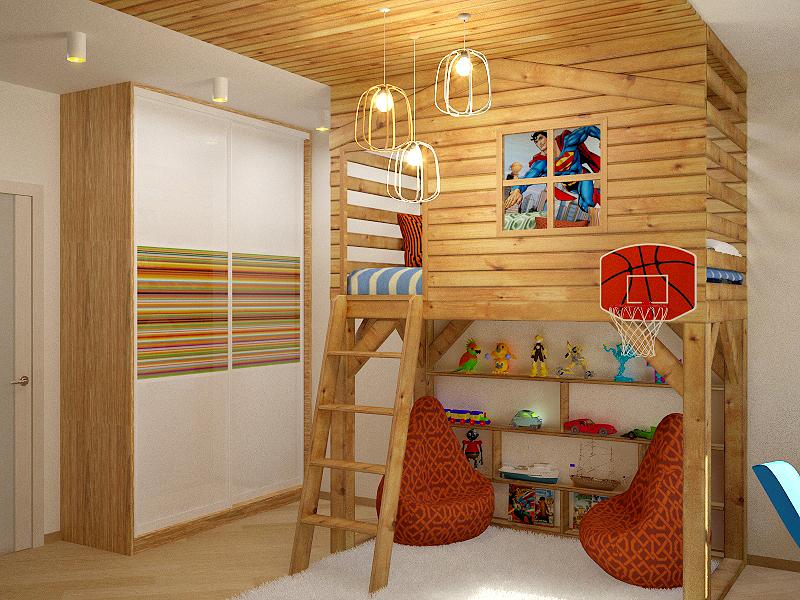 Дизайн квартиры студии в парковом