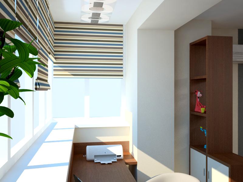 Дизайн балкона для подростка. - наши работы - каталог статей.